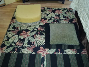 Jan Addams recovering cushions